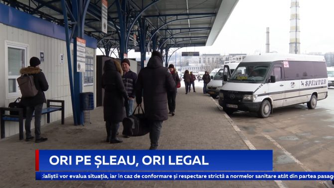 ORI PE ȘLEAU, ORI LEGAL